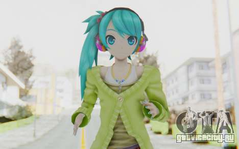 Autumn Breeze Miku для GTA San Andreas