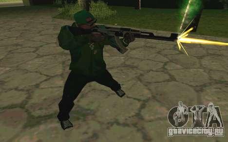 AK-47 Vulcan (SA) для GTA San Andreas шестой скриншот