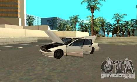 Caprice styled Premier для GTA San Andreas вид справа