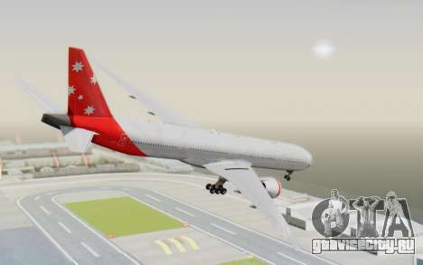 Boeing 777-300ER Virgin Australia v1 HD для GTA San Andreas вид слева