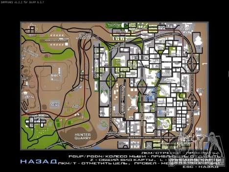 Карта для SAMP для GTA San Andreas третий скриншот