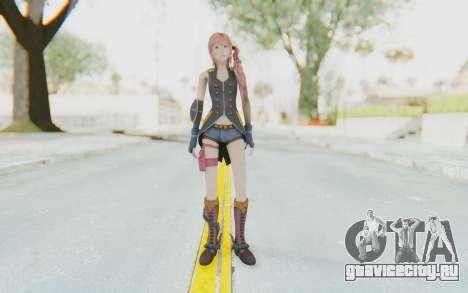 Final Fantasy XIII-2 - Serah Style and Steel для GTA San Andreas второй скриншот