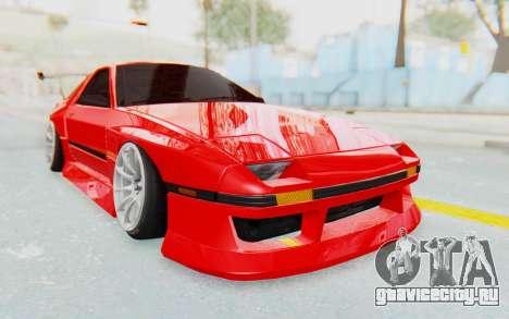 Mazda RX-7 FC3S BN Sport для GTA San Andreas вид сзади