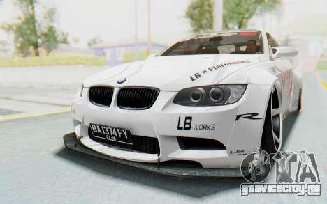 BMW M3 E92 Liberty Walk LB Performance для GTA San Andreas