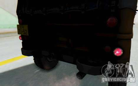 УАЗ-460Б IVF для GTA San Andreas вид сбоку