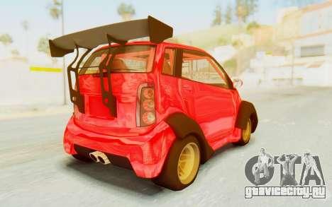 GTA 5 Benefactor Panto Custom для GTA San Andreas вид слева