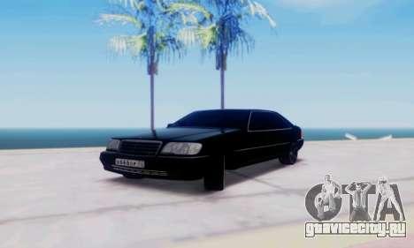 Mercedes-Benz MB W140 1999 для GTA San Andreas