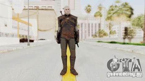 The Witcher 3: Wild Hunt - Geralt of Rivia для GTA San Andreas второй скриншот