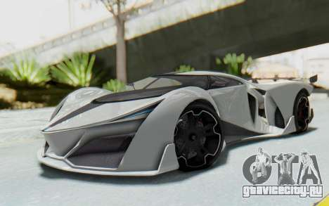 GTA 5 Grotti Prototipo v2 для GTA San Andreas