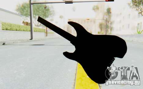 Steinberger GM1T White Pickguard для GTA San Andreas третий скриншот