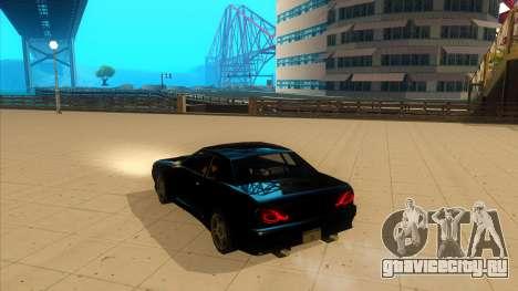 Elegy Bushido для GTA San Andreas вид слева
