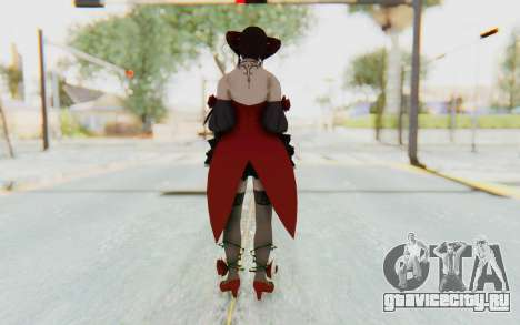 Eliza Skin для GTA San Andreas третий скриншот