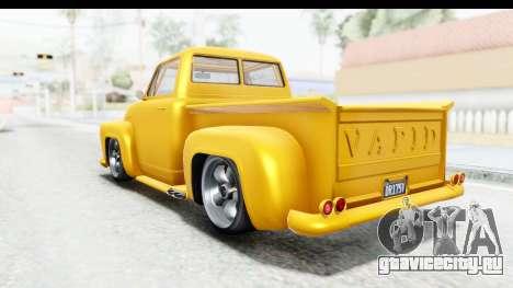 GTA 5 Vapid Slamvan without Hydro для GTA San Andreas вид слева
