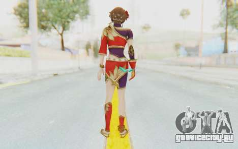 Musou Orochi 2: Ultimate - Sun Shangxiang v1 для GTA San Andreas третий скриншот
