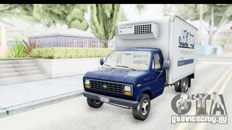 Ford E-350 Cube Truck IVF для GTA San Andreas вид сзади слева