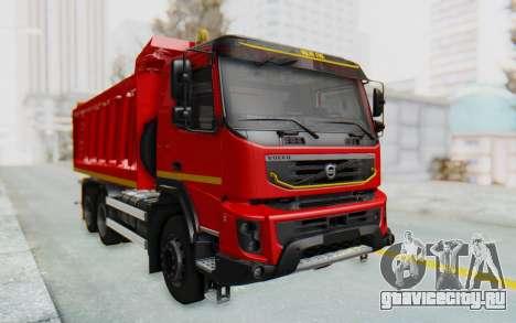 Volvo FMX 6x4 Dumper v1.0 для GTA San Andreas