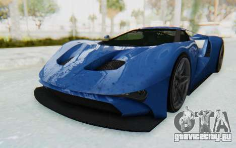 GTA 5 Vapid FMJ для GTA San Andreas