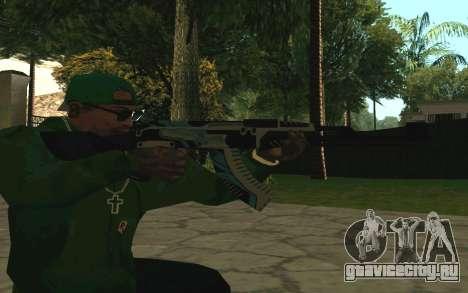 AK-47 Vulcan (SA) для GTA San Andreas четвёртый скриншот