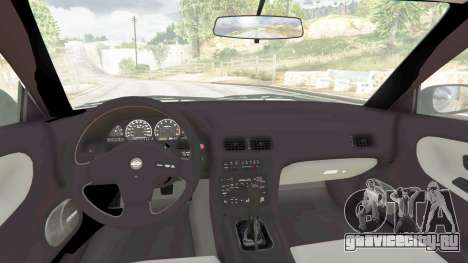 Nissan 180SX Type-X v0.5 для GTA 5 вид справа