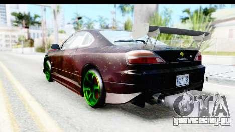 Nissan Silvia S15 Galaxy Drift v2.1 для GTA San Andreas вид слева