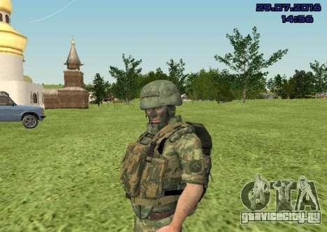 Боец Морской Пехоты для GTA San Andreas четвёртый скриншот
