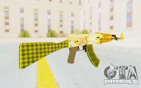 CS:GO - AK-47 Dragon Lore для GTA San Andreas второй скриншот