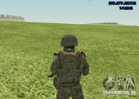 Боец Морской Пехоты для GTA San Andreas второй скриншот