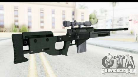 GTA 5 Shrewsbury Sniper Rifle для GTA San Andreas второй скриншот
