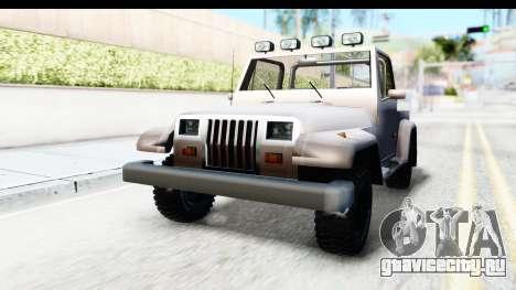 Mesa MAXimum 4x4 для GTA San Andreas вид справа