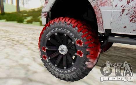 Ford F-150 ROAD Zombie для GTA San Andreas вид сзади слева