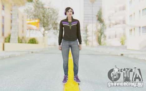 GTA Online Skin Female для GTA San Andreas второй скриншот