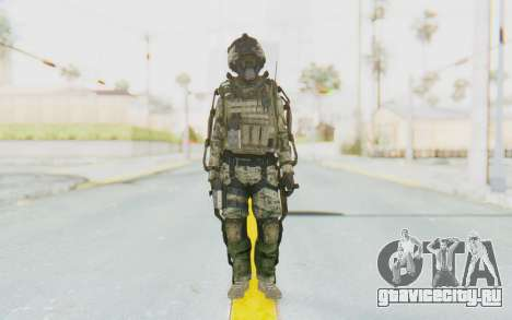 CoD AW US Marine Assault v1 Head A для GTA San Andreas второй скриншот
