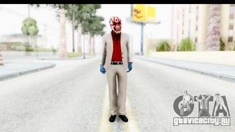 Payday 2 - Jiro with Mask для GTA San Andreas второй скриншот