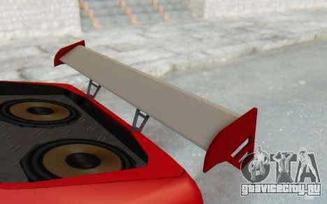 Elegy GT v1 для GTA San Andreas вид сверху
