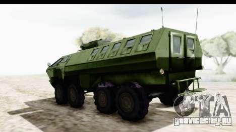 Lazar Serbian Armored Vehicle для GTA San Andreas вид сзади слева