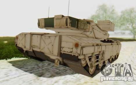 MGSV Phantom Pain M84A MAGLOADER для GTA San Andreas вид слева