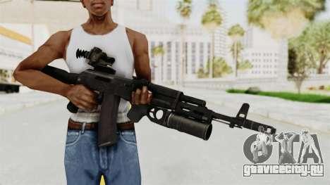 AK-74M v3 для GTA San Andreas третий скриншот