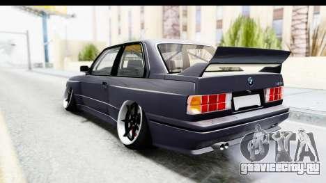 BMW M3 E30 2015 JDM для GTA San Andreas вид слева