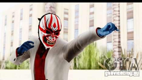 Payday 2 - Jiro with Mask для GTA San Andreas