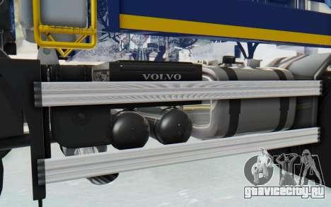Volvo FMX 6x4 Dumper v1.0 Color для GTA San Andreas вид изнутри