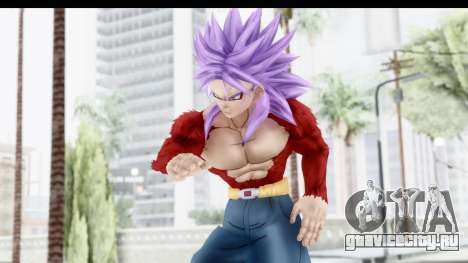 Dragon Ball Xenoverse Future Trunks SSJ4 для GTA San Andreas