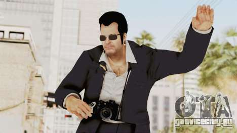 Dead Rising 2 Off The Record Frank West Glasses для GTA San Andreas