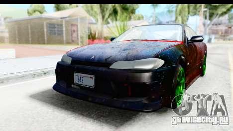 Nissan Silvia S15 Galaxy Drift v2.1 для GTA San Andreas