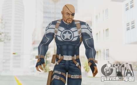 Marvel Future Fight - Nick Fury для GTA San Andreas