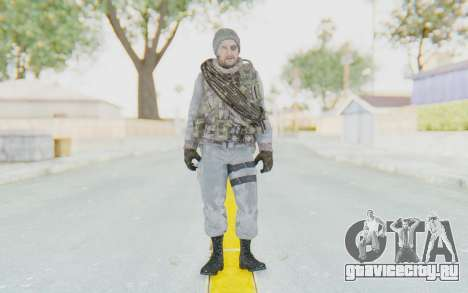 COD BO Grigori Weaver Winter для GTA San Andreas второй скриншот