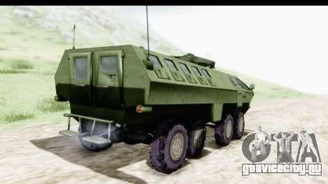 Lazar Serbian Armored Vehicle для GTA San Andreas вид слева