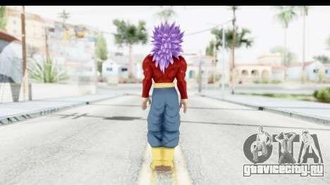 Dragon Ball Xenoverse Future Trunks SSJ4 для GTA San Andreas третий скриншот