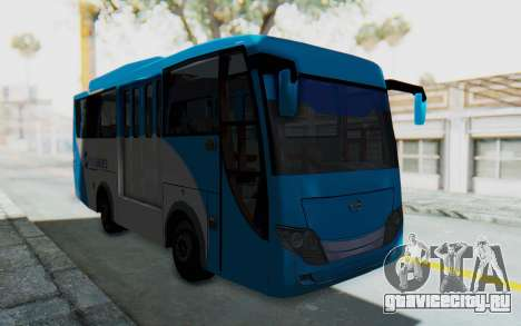 Hino Evo-C Transjakarta Feeder Bus для GTA San Andreas вид справа