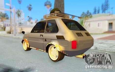 Fiat 126 для GTA San Andreas вид слева
