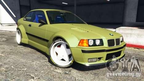 BMW M3 (E36) Street Custom v1.1 для GTA 5 руль и приборная панель